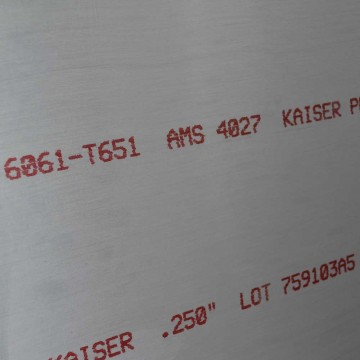 6061-T651 Plates Cut to Size